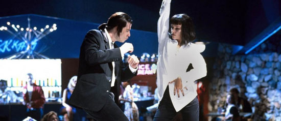 baile john travolta y uma thurman pulp fiction