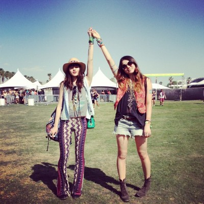 look festival hippie coachella