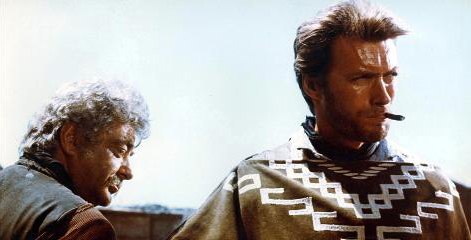 Clint Eastwood fistful dollars poncho