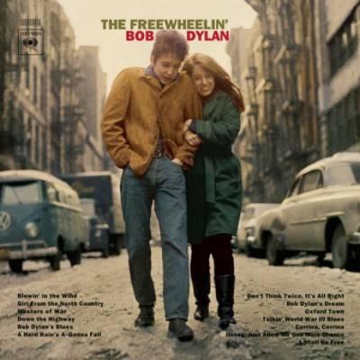 freewheelin bob dylan 1963 cover portada