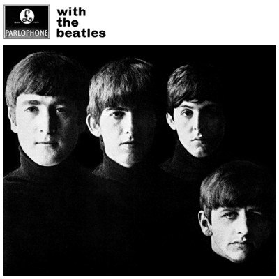 with the beatles 1963 cover portada