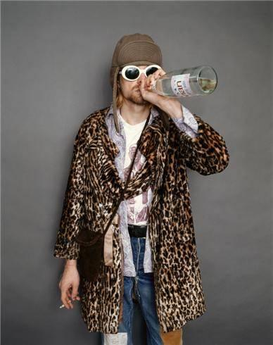 Kurt_Cobain look punk 90s