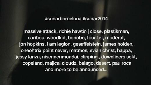 Sonar 2014 cartel