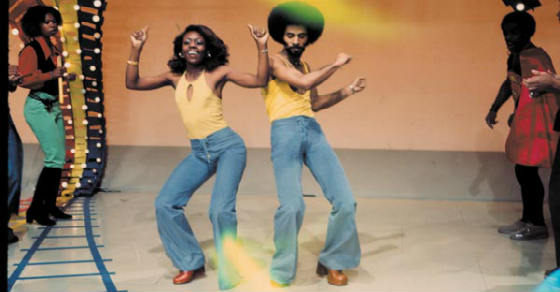 Soul train dancers