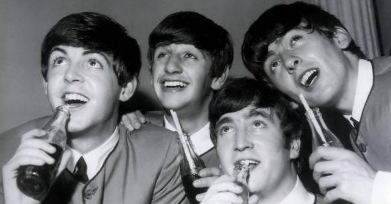 Beatles Coca Cola