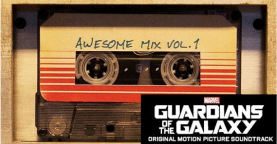 BSO Guardianes de la Galaxia Awesome Mix Vol. 1