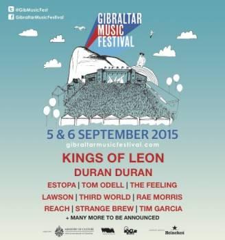 Gibraltar music festival primera tanda