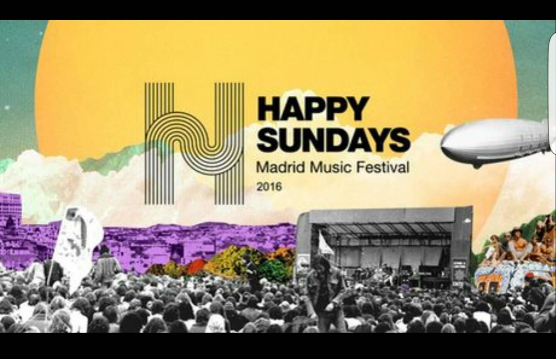 Happy Sundays se celebrará los domingos entre mayo y junio