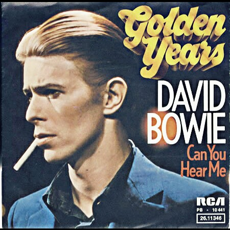 La portada del sencillo 'Golden Years', primero de Station To Station.