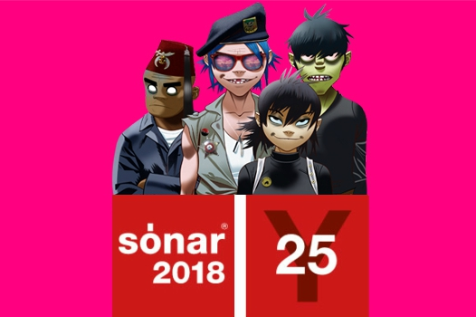 Richie Hawtin, Bonobo, Gorillaz And More Headline 2018 Sónar Festival