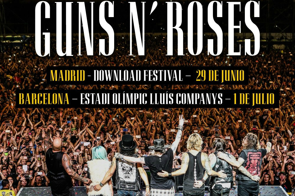 guns n roses download madrid