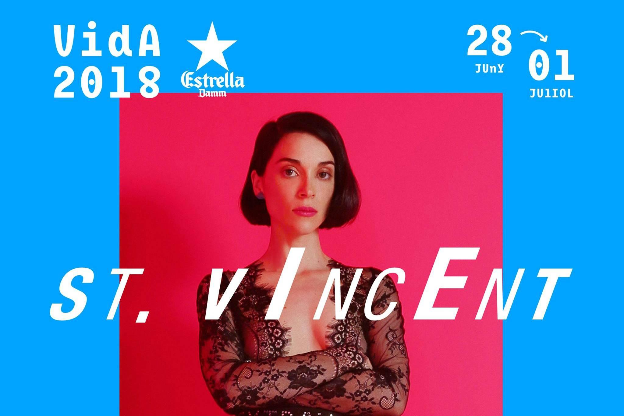 st. vincent vida festival 2018
