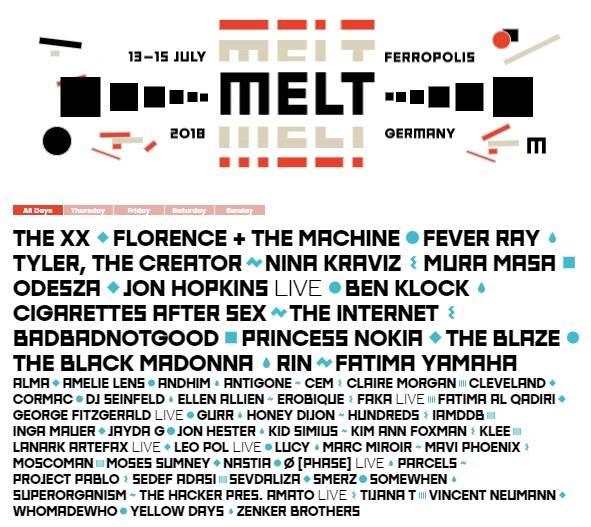 cartel melt festival