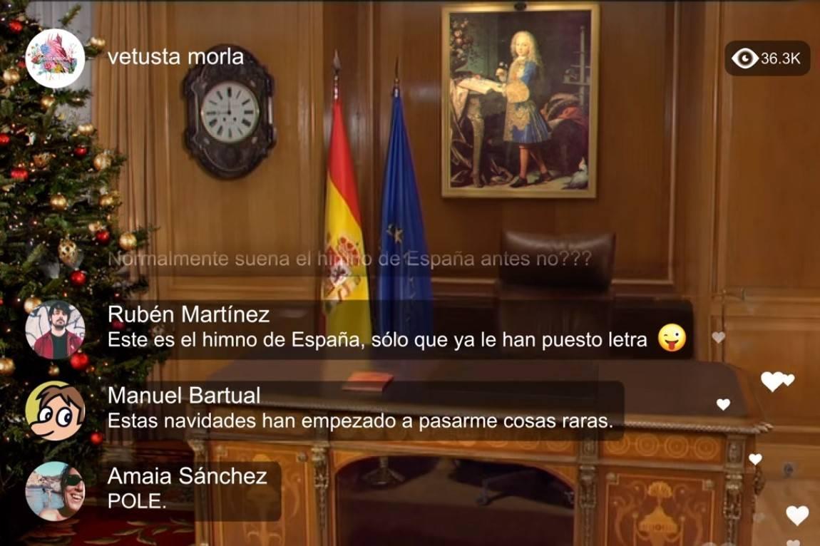 video el discurso del rey vetusta morla