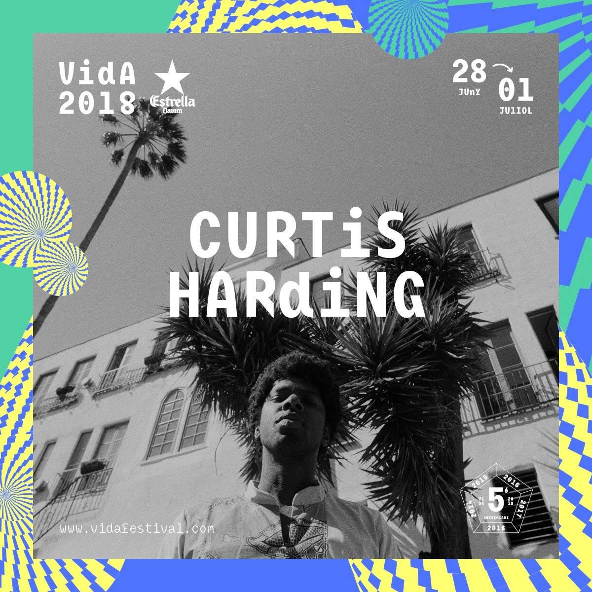 curtis harding vida festival