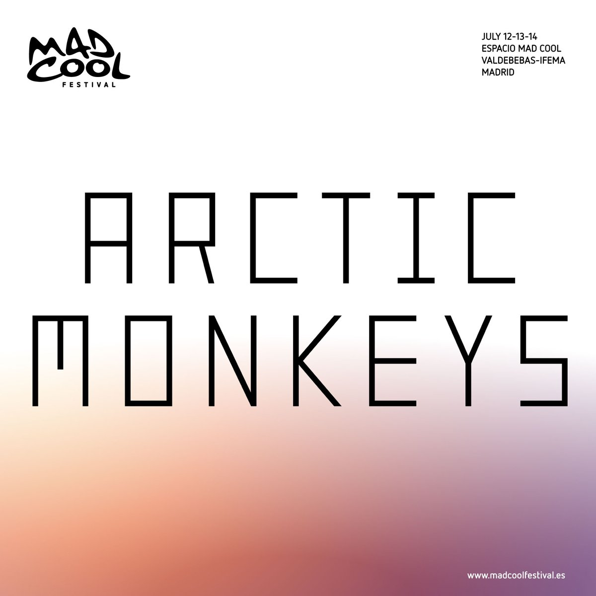 arctic monkeys mad cool festival