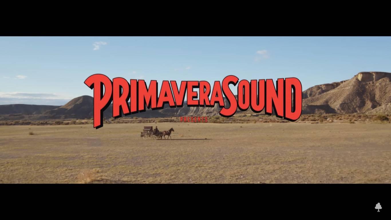 primavera sound anuncio del anuncio del cartel