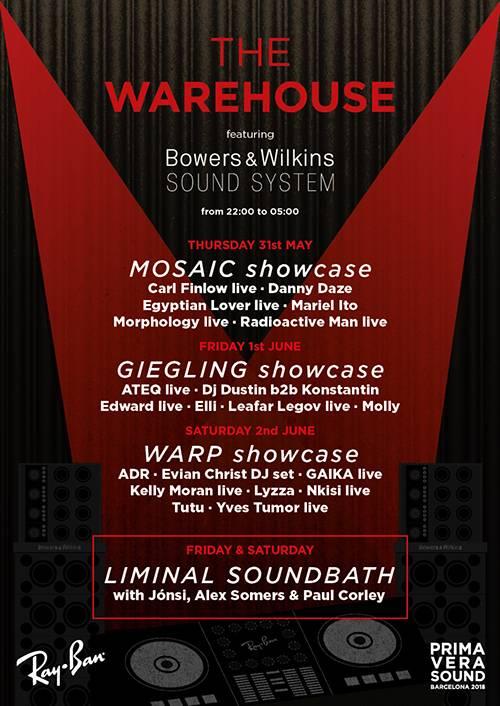 primavera sound festival 2018 cartel completo