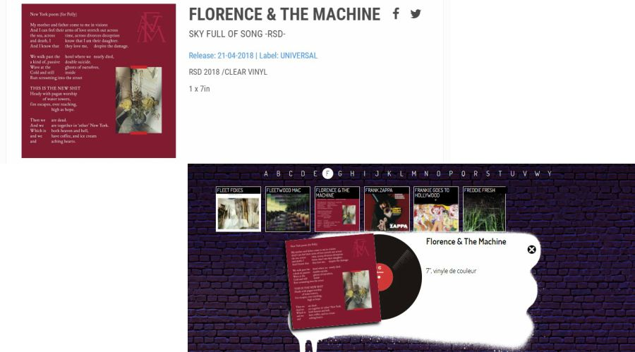 nueva cancion florence + the machine sky full of song
