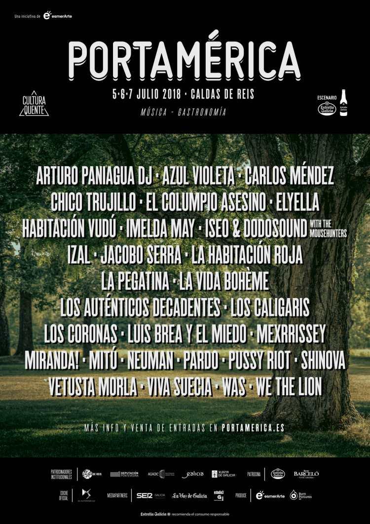 cartel portamerica 2018