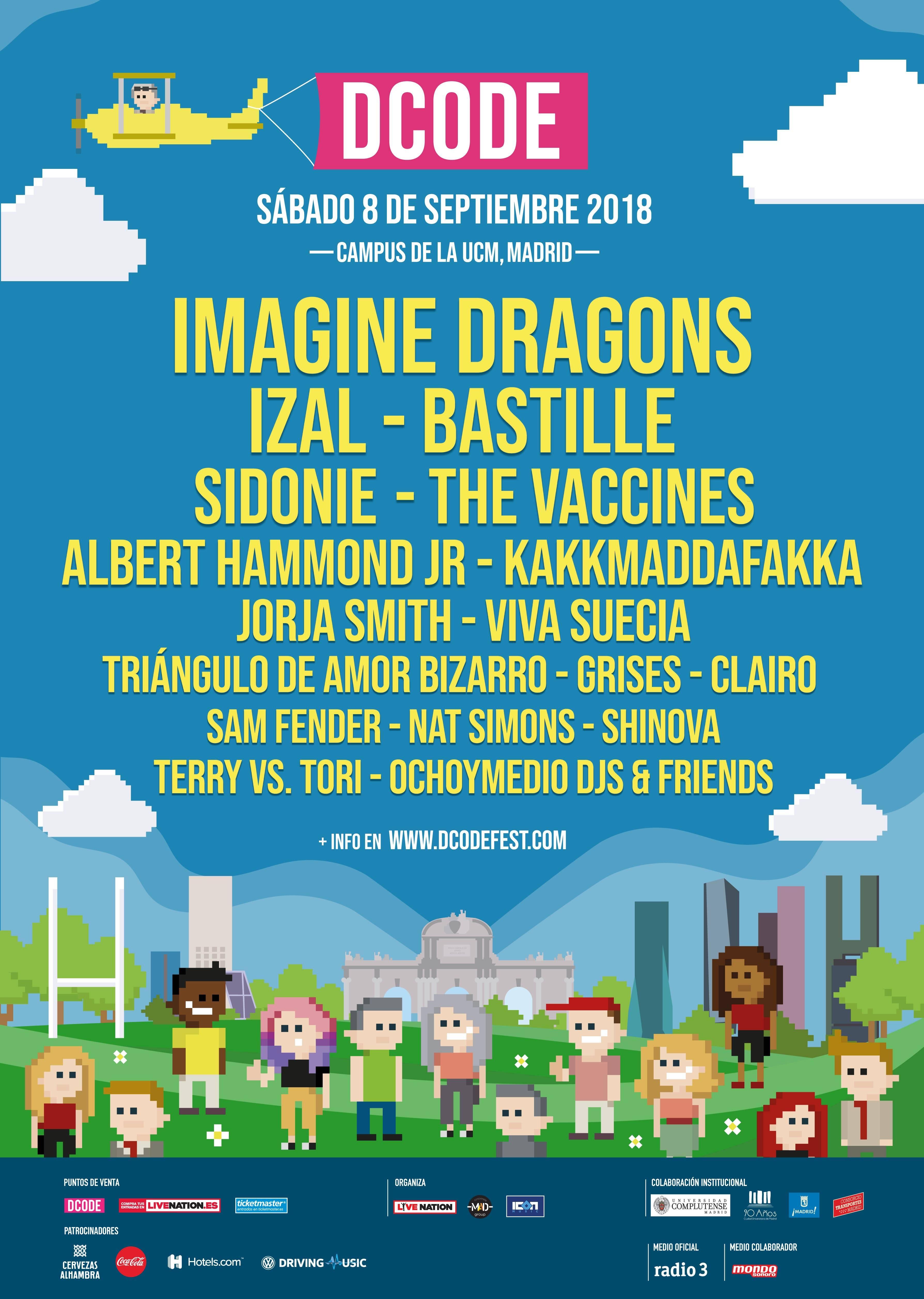 cartel completo dcode festival madrid