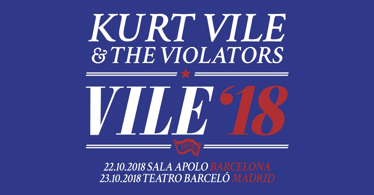 conciertos kurt vile violators madrid barcelona bime