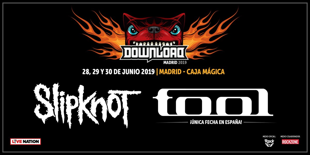 tool download festival slipknot