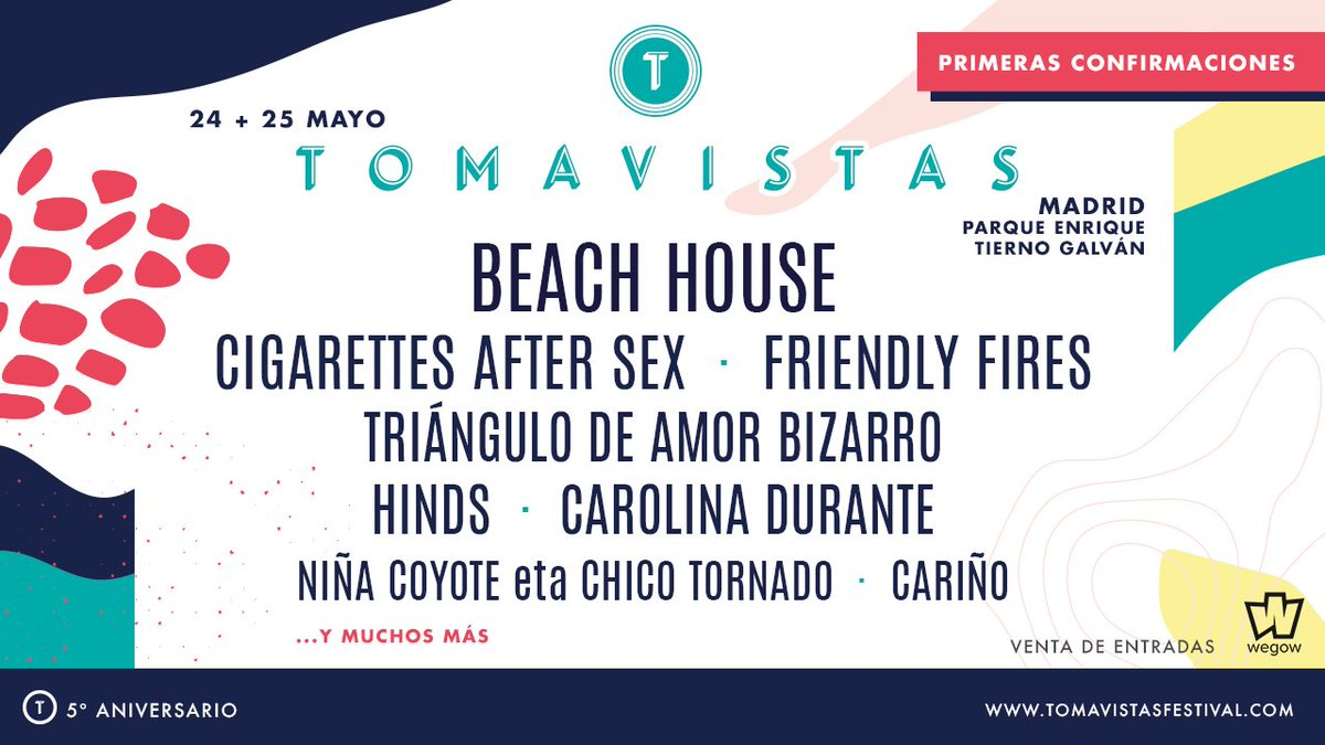 tomavistas 2019 cartel beach house