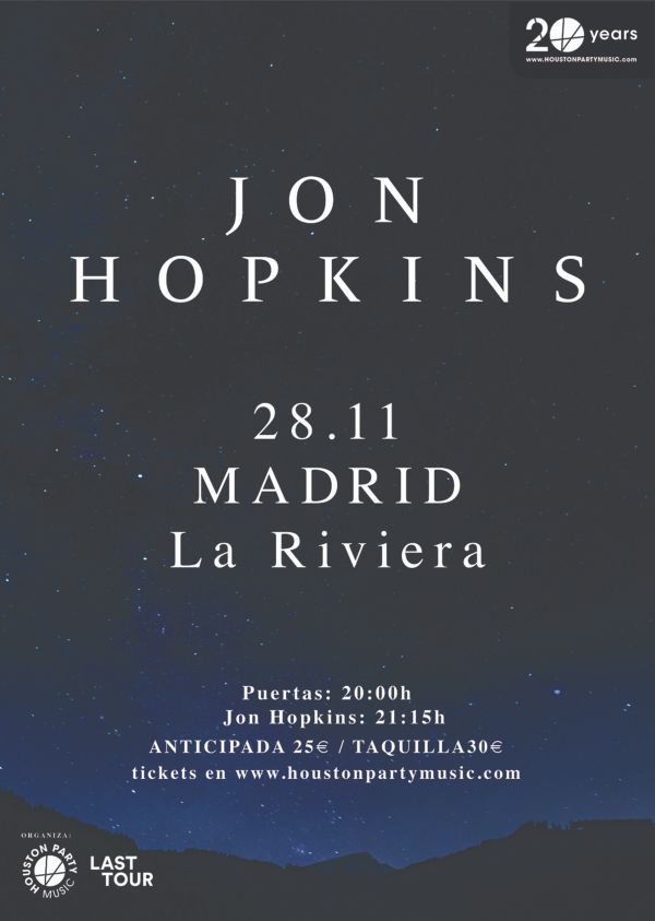 jon hopkins madrid