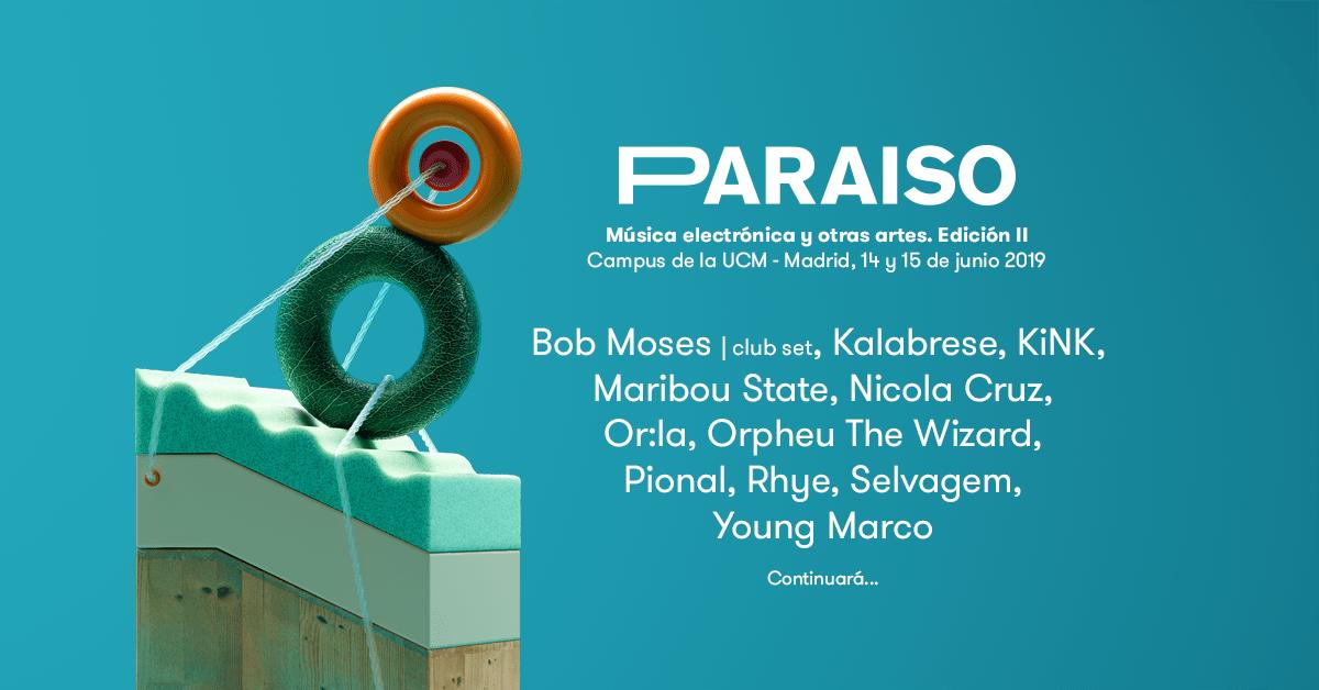 primeros nombres paraiso festival 2019