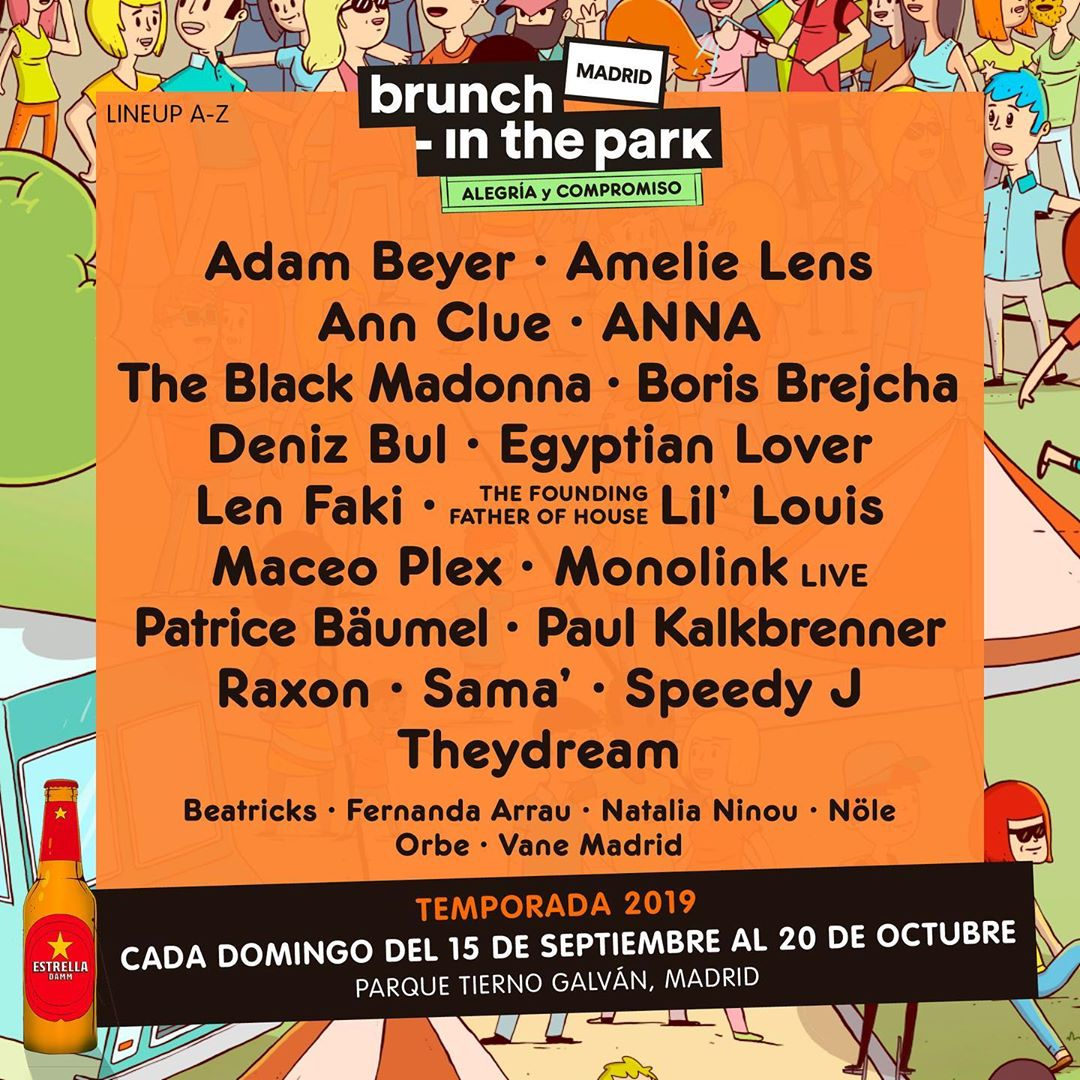 cartel bruch in the park madrid 2019